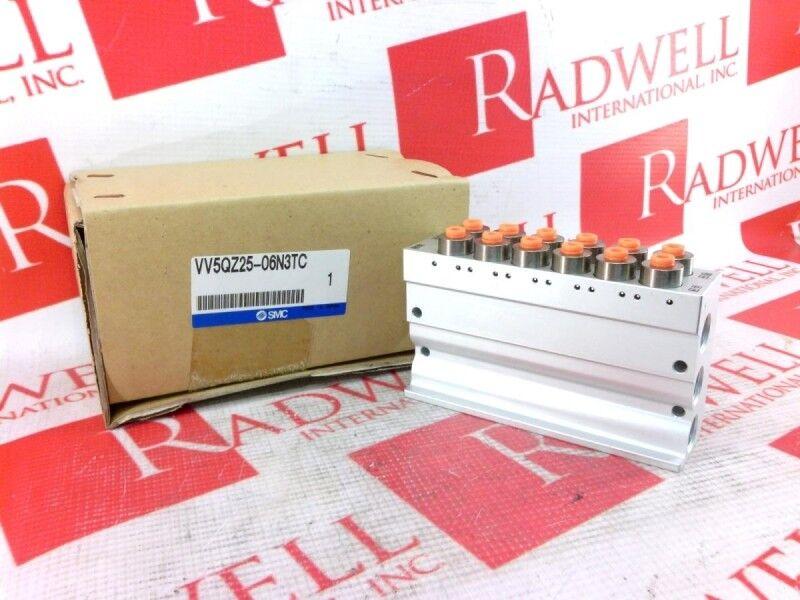 SMC VV5QZ25-06N3TC   VV5QZ2506N3TC (NEW IN BOX)