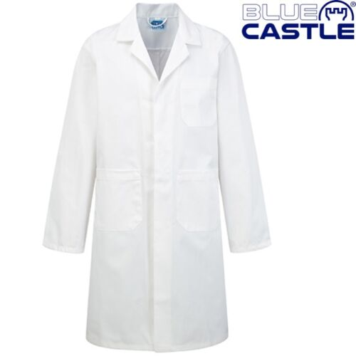 BLUE CASTLE KIDS SCIENCE LAB COAT SCIENTIST FANCY DRESS BOYS GIRLS SCHOOL DOCTOR
