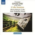 George Onslow: Cello Sonatas (CD, Jan-2013, Naxos (Distributor))