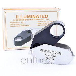 Lupa-LED-20x-20x21mm-Herramienta-de-Joyeros-Plata-en-Caja-a954