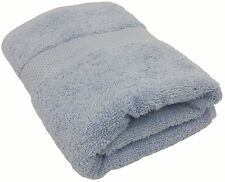 "BLUE EGYPTIAN COTTON FACECLOTH WASHCLOTH BATHROOM TOWEL 600GSM 11"" - 29CM"