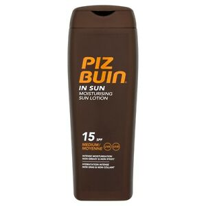 Piz Buin In Sun Tan Lotion SPF 15 200ml WIth Helioplex