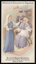 santino-holy card AIGUEBELLE-VITA DI S.BERNADETTE SOUBIROUS 7