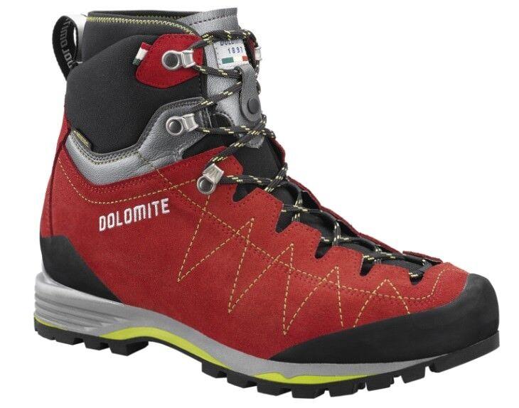 shoes Trekking Mountain-climbing Hiking DOLOMITE TORQ GTX 2.0 Red - Green