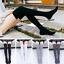 Women-Cable-Knit-Long-Stripe-Socks-Over-Knee-Thigh-High-School-Girl-Stocking-New thumbnail 1