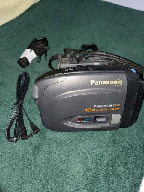 Panasonic Pv 960 Vhs Analog Camcorder For Sale Online Ebay