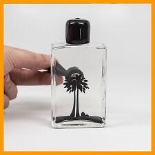 BLACK 120 mL Ferrofluid Display Bottle - SQUARED | Genuine Concept Zero