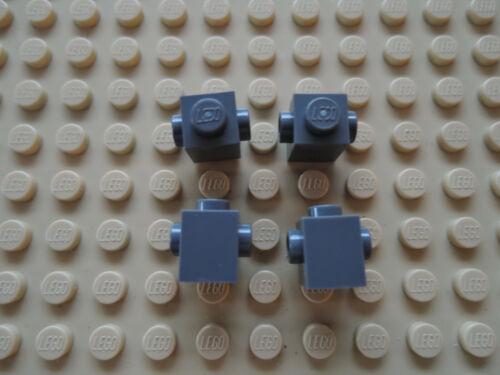LEGO 10 x Stein Konverter 47905 neu dunkelgrau 1x1  2 seitl Noppen