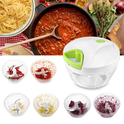 Vegetable Onion Garlic Food Quick Chopper Cutter Slicer Peeler Dicer Salad Maker
