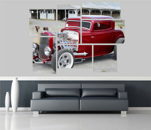 Ford-Model-Retro-Car-Removable-Self-Adhesive-Wall-Picture-Poster-1646