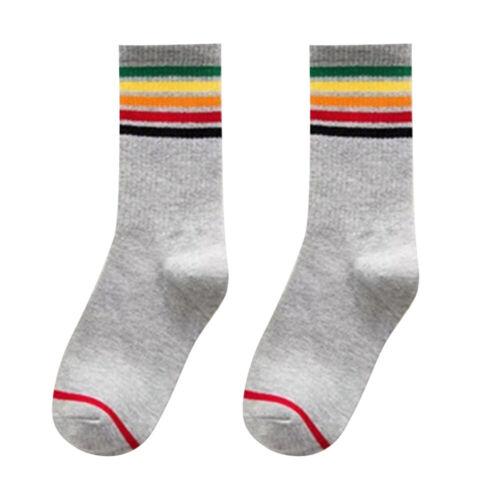 ADBB 3 Colors Letter Sock Ankle Socks Cotton Skate Portable Cotton Socks