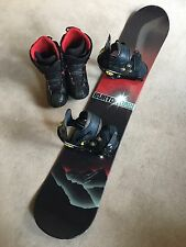 Burton Clash OneFiftySeven Snowboard and Bindings (154cm) (Boots NOT INCLUDED)
