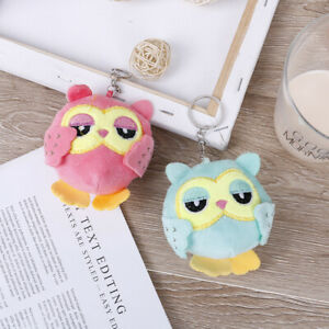 9Cm-key-chain-toys-plush-stuffed-animal-owl-toy-small-pendant-dolls-party-g-YAN