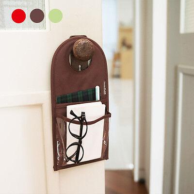 Door pocket Storage Organizer Hanging Bag Over Door Closet Hanger Glasses holder