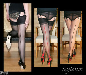 3-pares-de-lujo-con-costura-de-nylon-Stockings-Mixto-Color-Pack