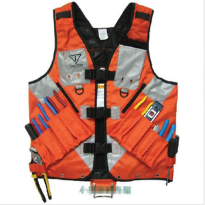 Image Is Loading Electrician Plumber Craftman Construction Tool Vest Jacket Bag