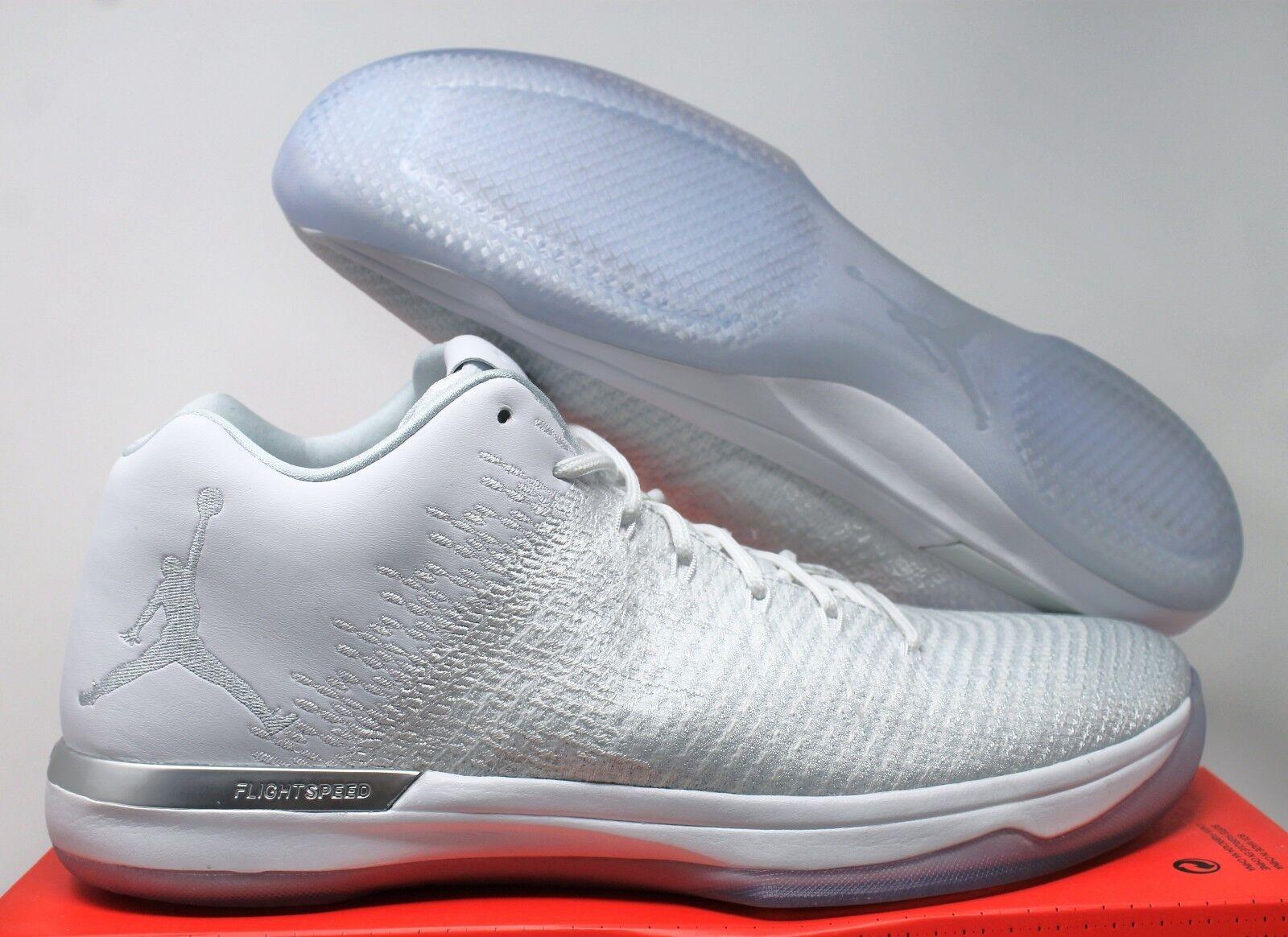 Nike Air Jordan XXXI 31 Low White-Pure Platinum SZ 14 [897564-100]