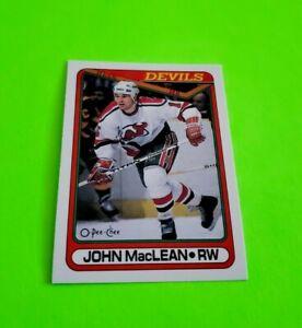 1990-91-O-Pee-Chee-Hockey-John-MacLean-Card-224-New-Jersey-Devils