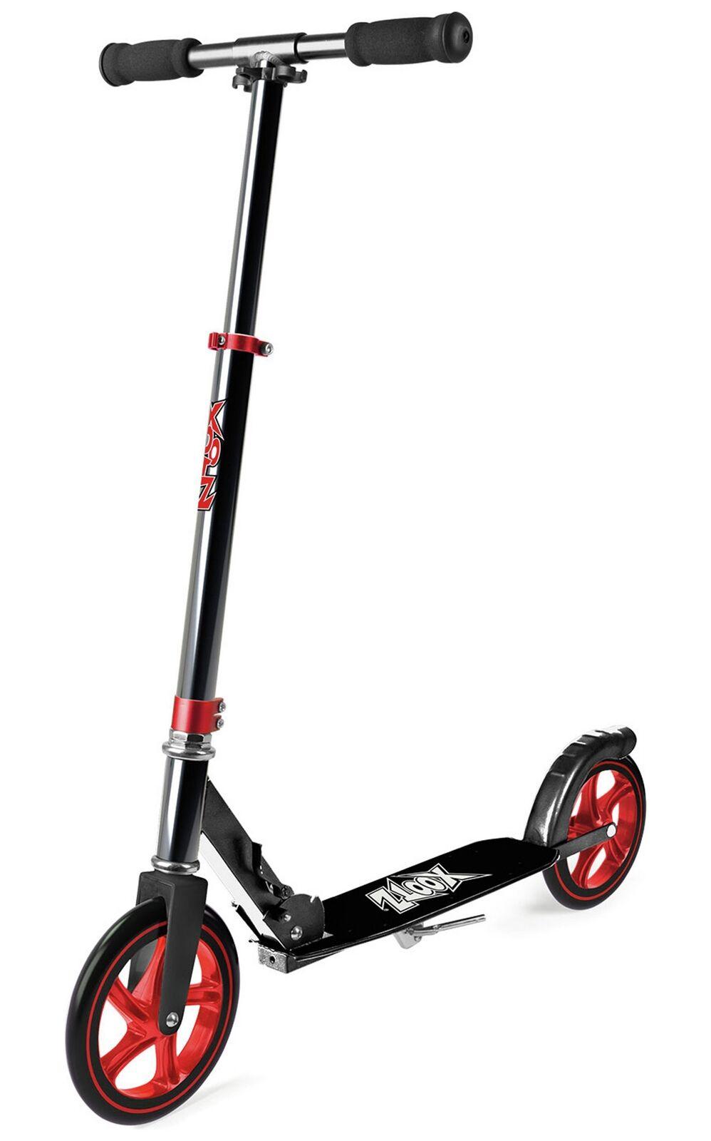Xootz Large Red Wheeled Aluminium Scooter - Gunmetal
