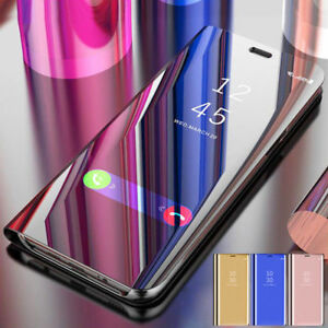Smart-View-Mirror-Leather-Flip-Stand-Case-Cover-Pour-iPhone-7-8-Plus-X-XR-XS-Max