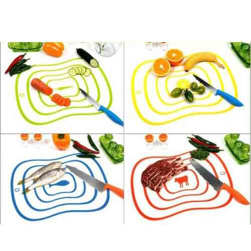 Mini Ultra-thin Vegetable Cutting Chopping Board Antibacteria Mat Kitchen Tool