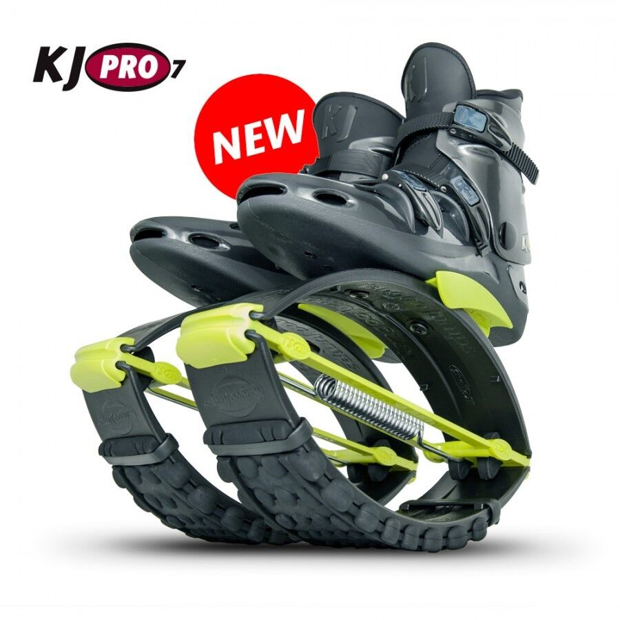 Org. Kangoo Jumps KJ PRO 7 ( 95 - - - 125 KG) schwarz Gelb Größe XL ( 44 5-47 5 ) 5fcaa9