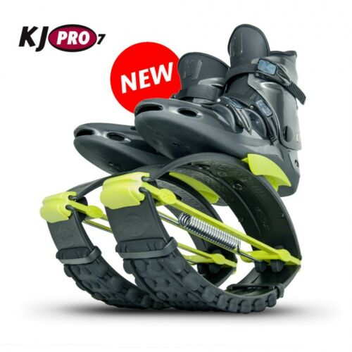Org. Kangoo Jumps KJ PRO 7 ( 95 - 125 KG) Black/Yellow Größe XL ( 44,5-47,5 )