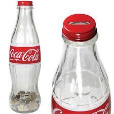 Coca Cola - 30.5cm Réplica Contour Du Verre Bouteille Banque - & Officiel
