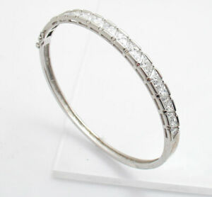 Fine Jewelry Precious Metal Without Stones Modern Silver Bracelet With 925 Silver Silver Jewellery Modern And Elegant In Fashion