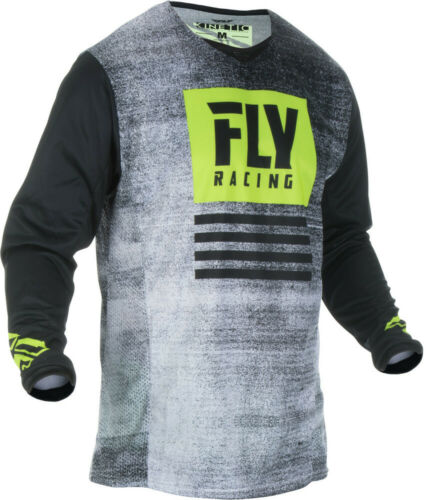 Fly Racing KINETIC NOIZ Jersrey Black//Hi-Vis