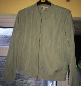 Forever-21-Silky-Bomber-Jacket-Size-XL