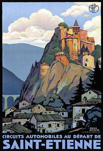 TT54-Vintage-Saint-Etienne-French-Travel-Poster-Broders-Re-Print-A4