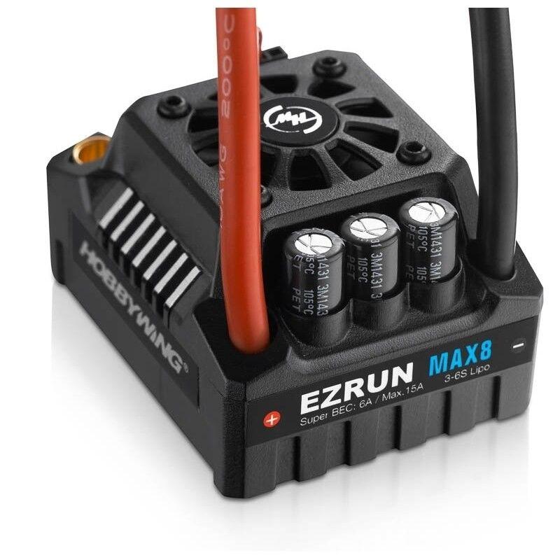 Hobbywing Ezrun MAX8-V3 T Plug Impermeable 1 8 1 5 Auto Esc-HW30103200