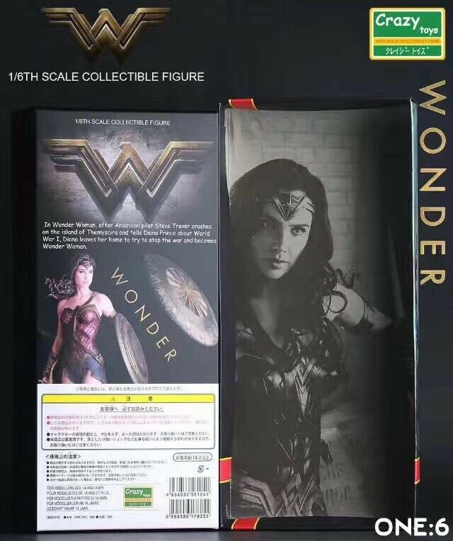 1 6 Crazy Toys Toys Toys Doll Action Figure Wonder Woman Christmas Gift 64ca53