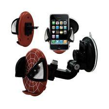 Support universel auto 2en1 pour Apple iPhone 3G / 3GS motif toile couleur rouge