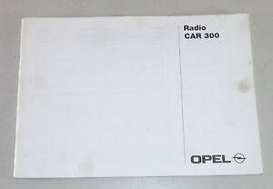 Instrucciones-Servicio-Opel-Radio-Car-300-Stand-05-1998