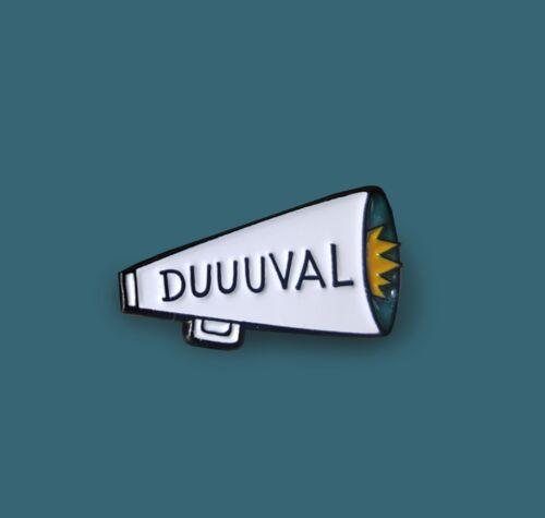 Duval DUUUVAL County Florida Pride Jacksonville Jaguars Team Spirit Enamel Pin