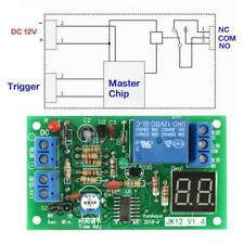 Dc 12v Countdown Timing Timer Delay Turn Off Relay Switch Module Led Display Usa