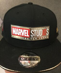 Marvel Studios The First 10 Years SnapBack Hat. NEW ERA. One Size ... 2f45243d124