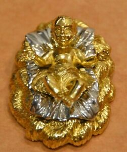 JAY STRONGWATER BABY JESUS 18K GOLD GILDED CHRISTMAS HOLIDAY NATIVITY FIGURINE