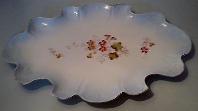 Doelbewust Joli Petit Plateau En Porcelaine De Limoges 1900 Materialen Van Hoge Kwaliteit