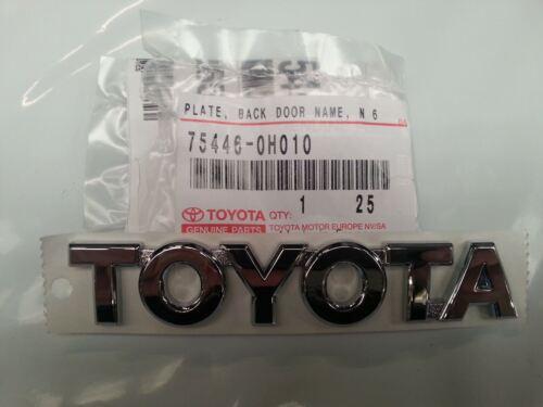 Genuine Toyota Aygo Rear /'Toyota/' Badge 75446-0H010