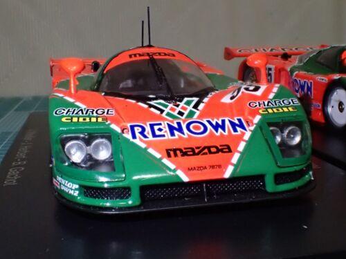 Le Mans Cars Collection 1//43 Model TOYOTA TS050 #1// Mazda 787B #2//Porsche 956 #3