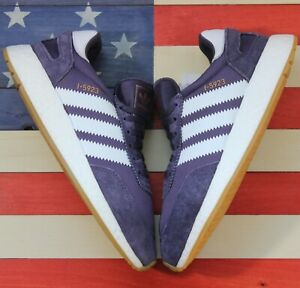 Adidas-Originals-I-5923-BOOST-Running-Shoes-Purple-White-Gum-B27873-Men-039-s-sz-8