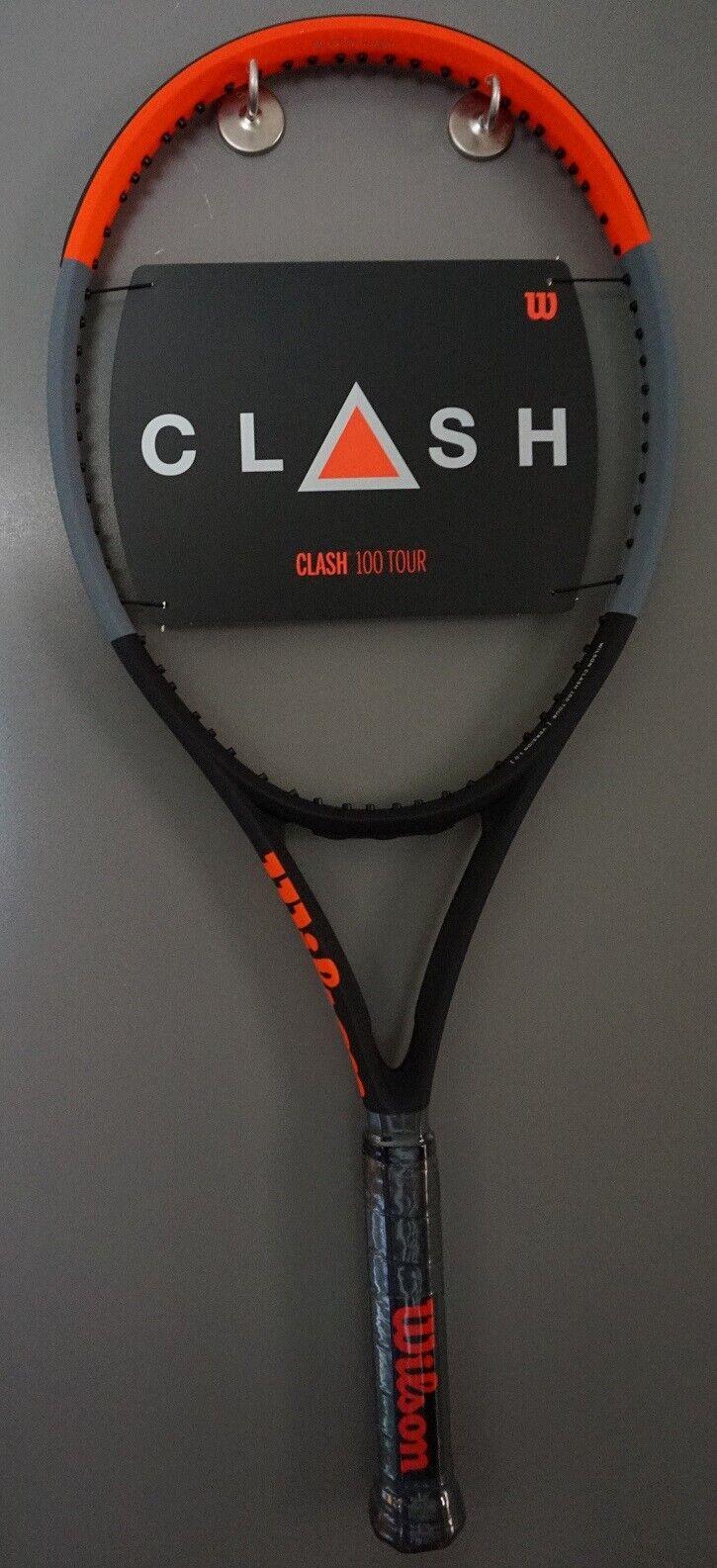 Nuevo enfrentamiento 100 Tour Tenis Raqueta Wilson 4 1 4 raqueta de L2 16x19 2019