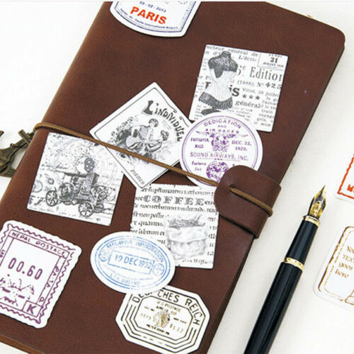 Travel Stamp Forest Sealing Sticker Decal Diary Scrapbook Decor 6A