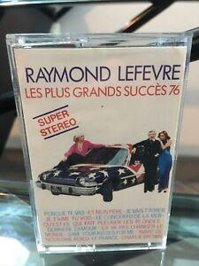 RARE CASSETTE AUDIO K7 MC TAPE - RAYMOND LEFEVRE - LES PLIS GRANDS SUCCÈS 1976⭐️