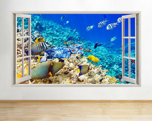 Image Is Loading A192 Aquarium Fish Tank Water Living Room Wall