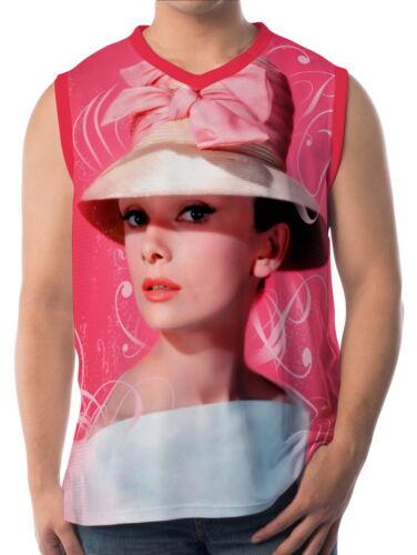 Audrey Hepburn Mens Vest Sleeveless Singlet Tank Top aao20156