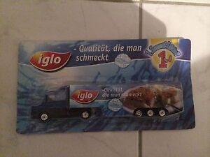 Werbetruck der Firma Iglo - Zirndorf, Deutschland - Werbetruck der Firma Iglo - Zirndorf, Deutschland